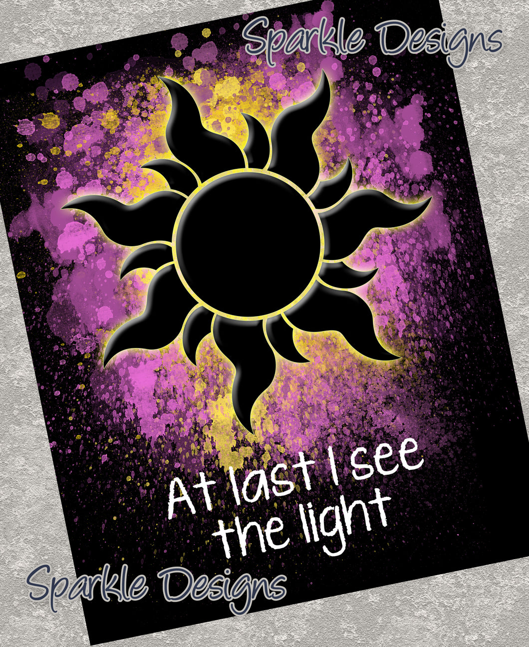 At last I see the light - Tangled 78 Magnet