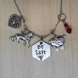 Be Safe - Charm Necklace