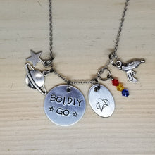 Boldly Go - Charm Necklace