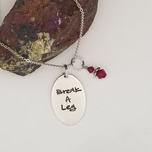 Break A Leg - Pendant Necklace