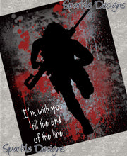 With you 'till the end of the line - Winter Soldier 135 Magnet