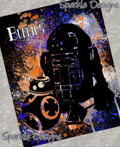 Buddies - Star Wars 115 Art Print