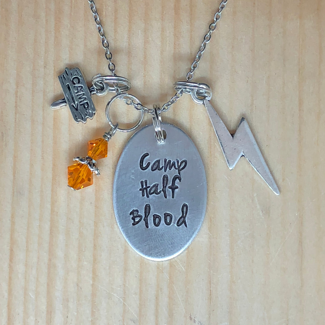 Camp Half Blood - Charm Necklace