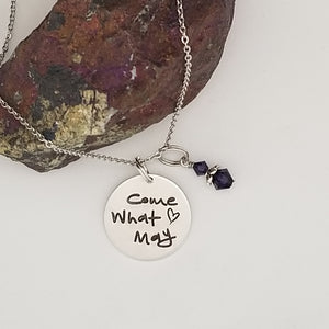 Come What May - Pendant Necklace