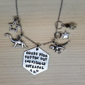 Curse Your Sudden But Inevitable Betrayal - Charm Necklace