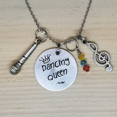 Dancing Queen - Charm Necklace