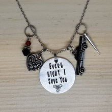 Every night I save you - Charm Necklace