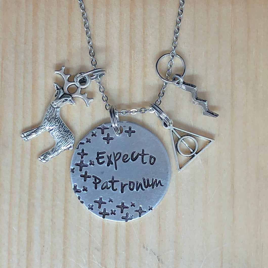 Expecto Patronum - Charm Necklace