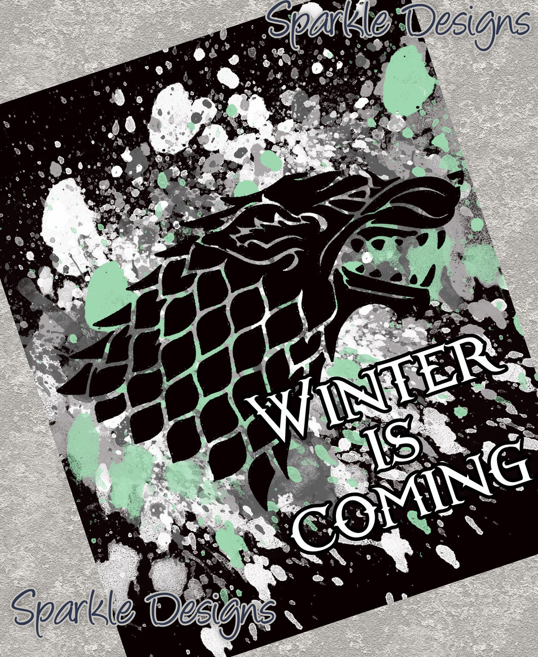 Winter is Coming - Game of Thrones 56 Art Print