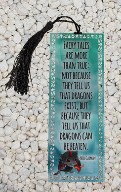 Fairytales are more than true -  Metal Bookmark