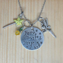 Faith, Trust and Pixie Dust - Charm Necklace