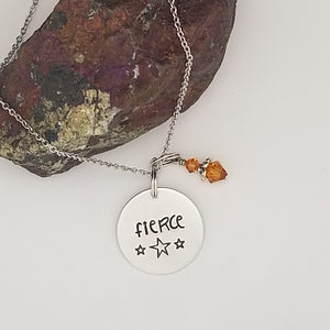 Fierce - Pendant Necklace