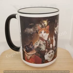 Purrinity 15 oz coffee mug