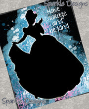 Have courage and be kind -  Cinderella 75 Magnet