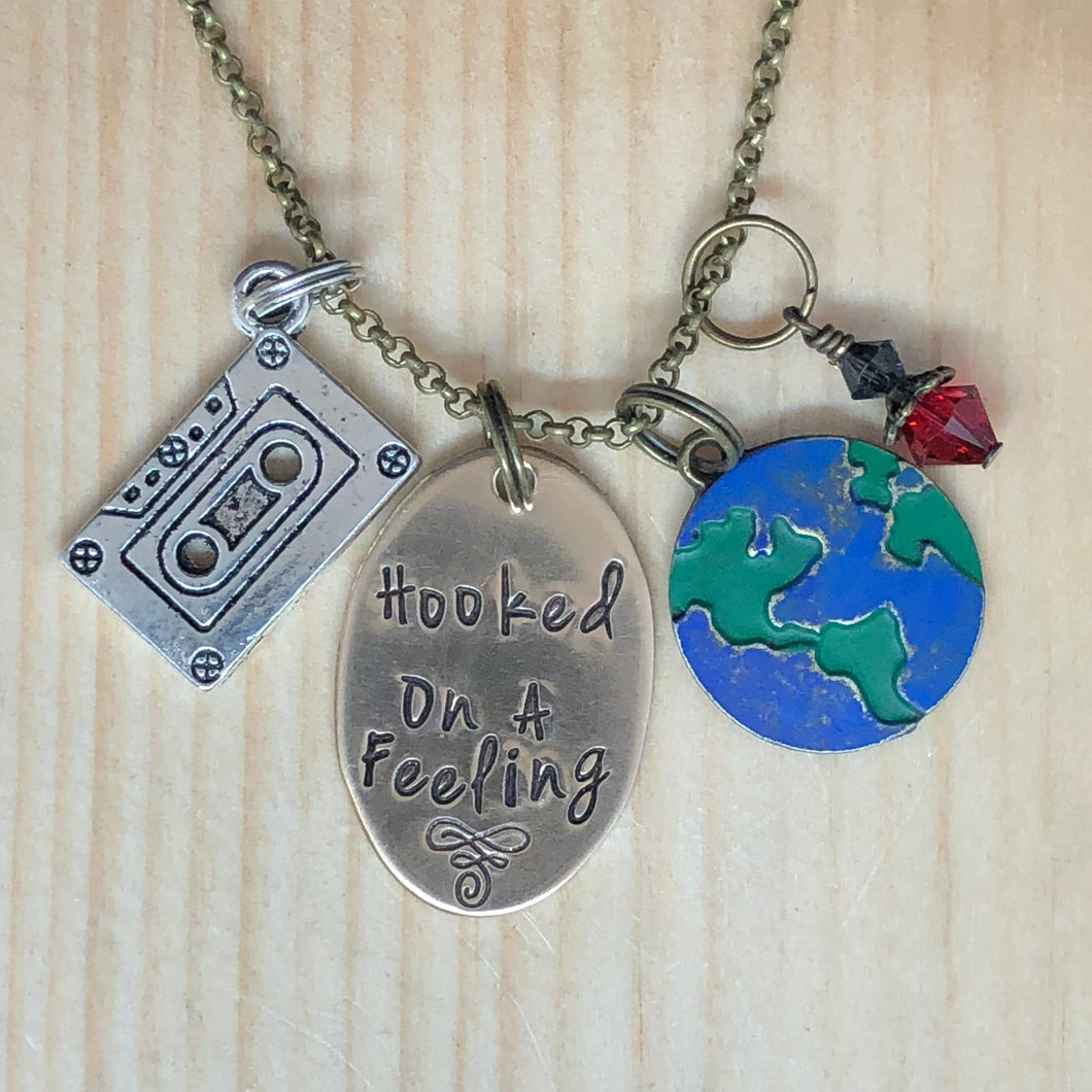 Hooked On A Feeling - Charm Necklace