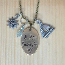 I Am Enough - Charm Necklace