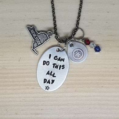 I Can Do This All Day - Charm Necklace