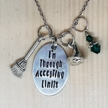 I'm Through Accepting Limits - Charm Necklace