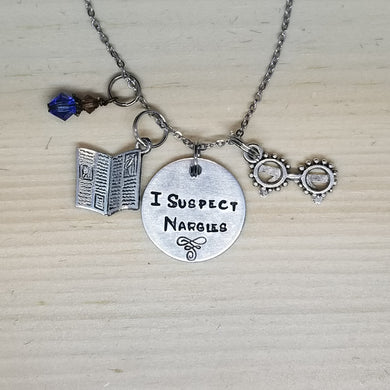 I Suspect Nargles - Charm Necklace