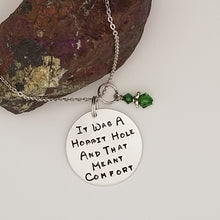 It Was A Hobbit Hole And That Meant Comfort - Pendant Necklace