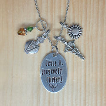 Jesus H Roosevelt Christ! - Charm Necklace