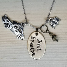 Just Breathe - Charm Necklace