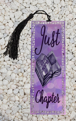 Just one more chapter -  Metal Bookmark