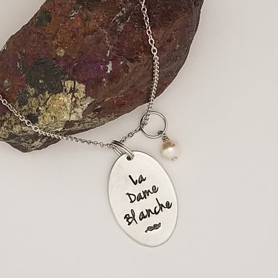 La Dame Blanche - Pendant Necklace