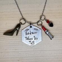 Madness Takes Its Toll - Charm Necklace