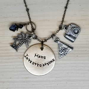 Mars Investigations - Charm Necklace