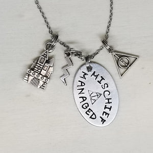 Mischief Managed - Charm Necklace
