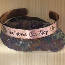 No Power In The 'Verse Can Stop Me Cuff Bracelet