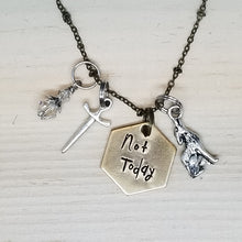 Not Today - Charm Necklace