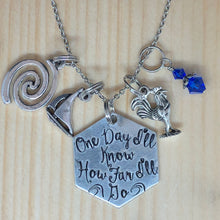 One Day I'll Know How Far I'll Go - Charm Necklace
