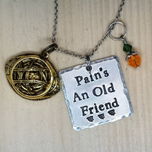 Pain's An Old Friend - Charm Necklace