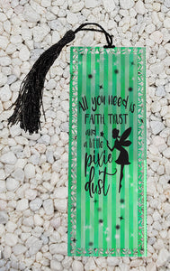 Peter Pan inspired - Metal Bookmark