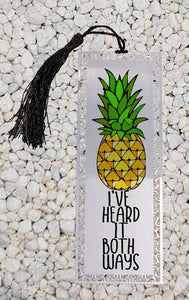 I've heard it both ways - Psych inspired  -  Metal Bookmark