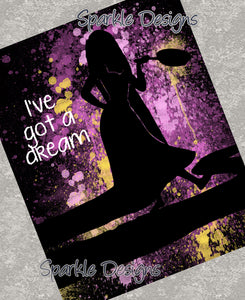 I've got a Dream - Rapunzel / Tangled 79 Art Print