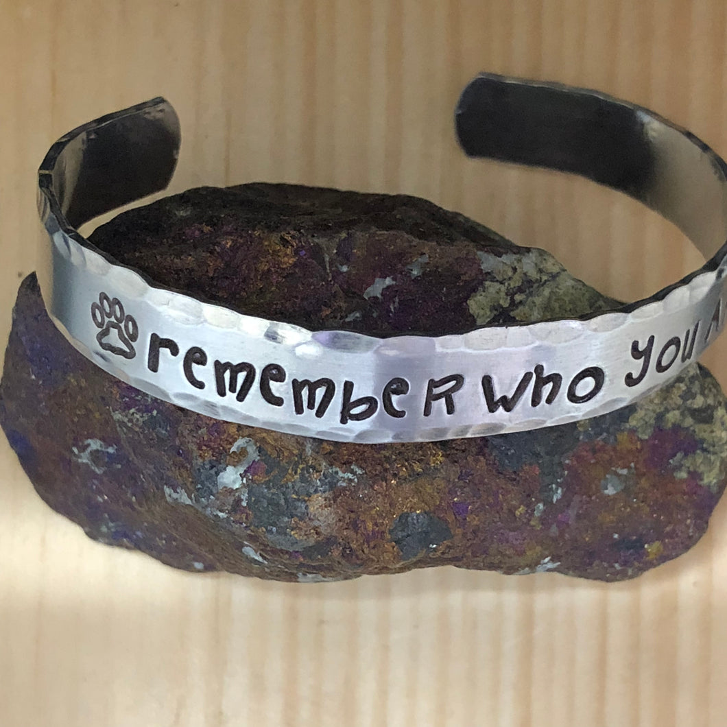 Remember Who You Are Cuff Bracelet