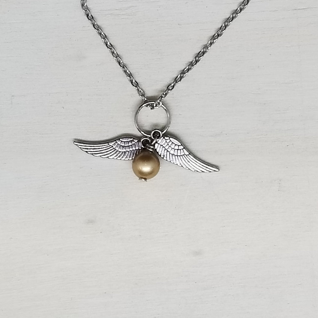 Snitch Charm Necklace
