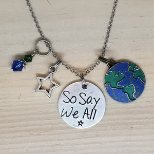 So Say We All - Charm Necklace