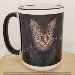 Supurrnatural 15 oz coffee mug