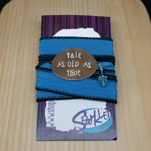 Tale As Old As Time wrap bracelet