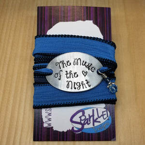 The Music Of The Night wrap bracelet