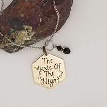 The Music Of The Night - Pendant Necklace