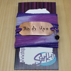 This Is Me wrap bracelet