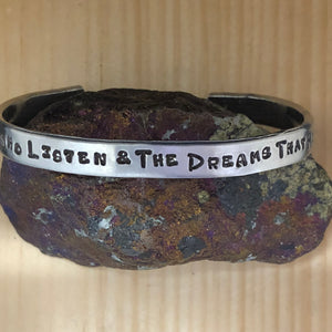 To The Stars Who Listen... Cuff Bracelet