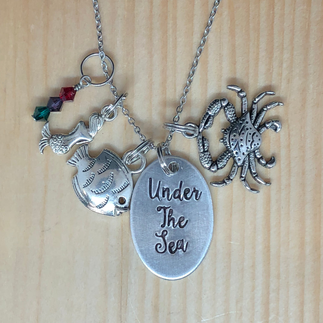 Under The Sea - Charm Necklace