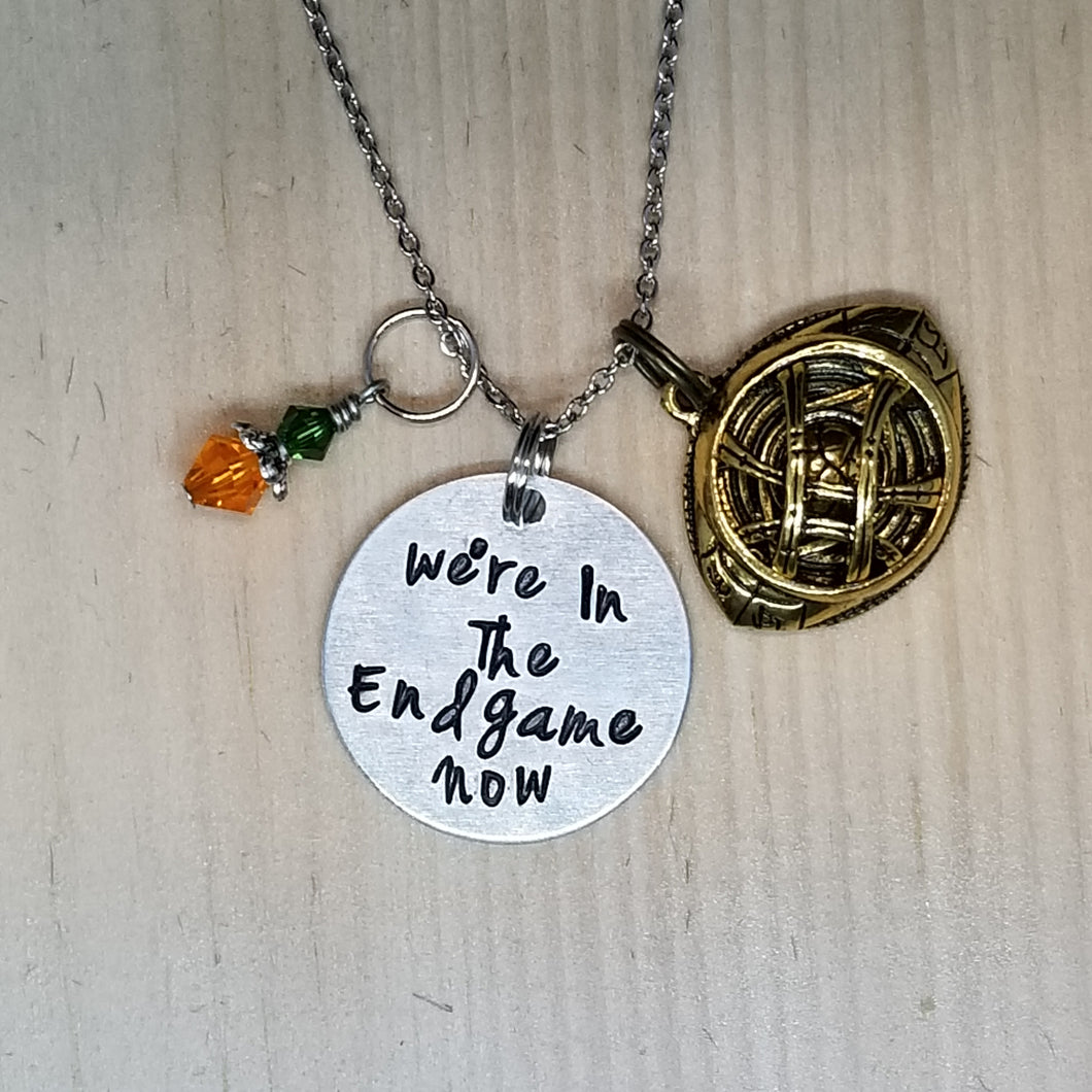 We're in the Endgame Now - Charm Necklace