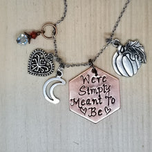 We're Simply Meant To Be - Charm Necklace